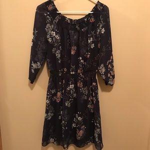 Maurices floral off-the-shoulder dress